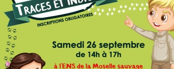 Animation nature Bayon - Traces et indices 26/09